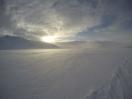 Dans le froid polaire la solitude est à nos côtés. Il faut avancer, et refuser d'écouter son esprit.